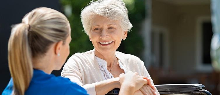 senior people nursing home